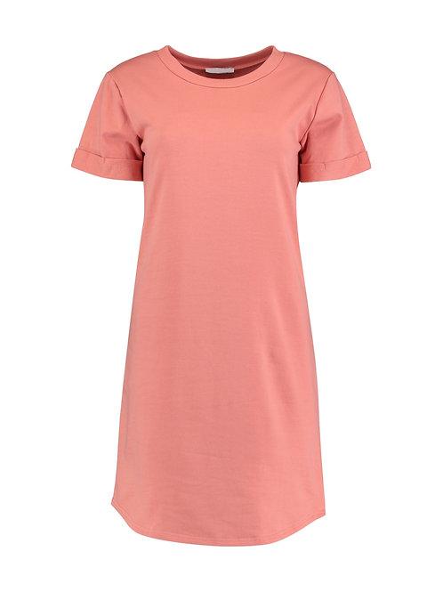 T-Shirt Kleid Ann Coral