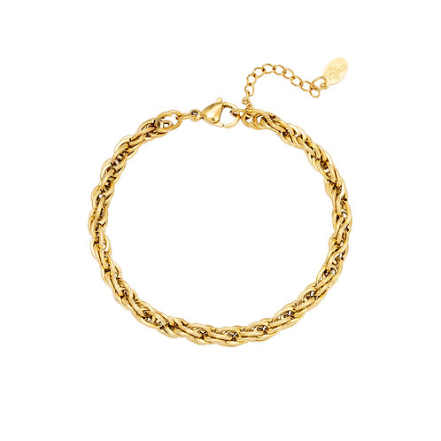 Armband Twisted Chain gold