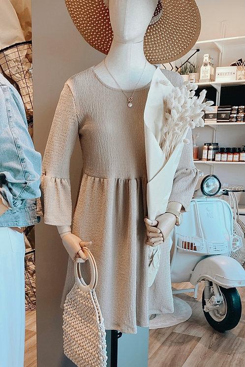 Kleid Sunny beige