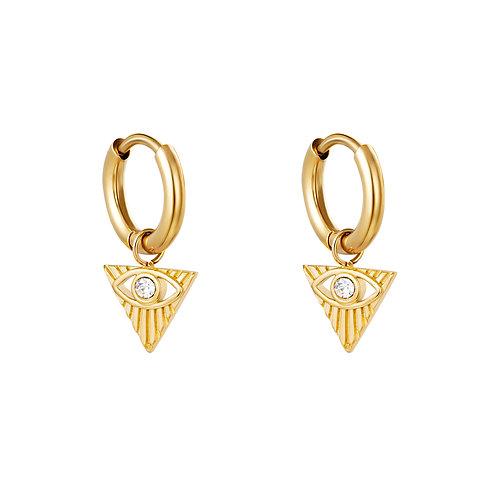 Ohrringe Cleopatra gold
