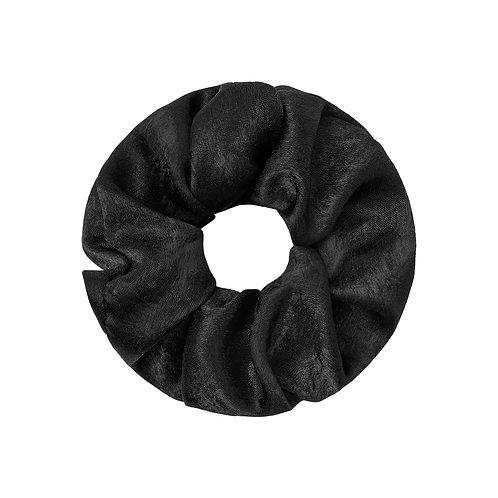 Satin Scrunchie black