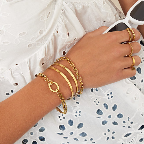 Armband Connect gold
