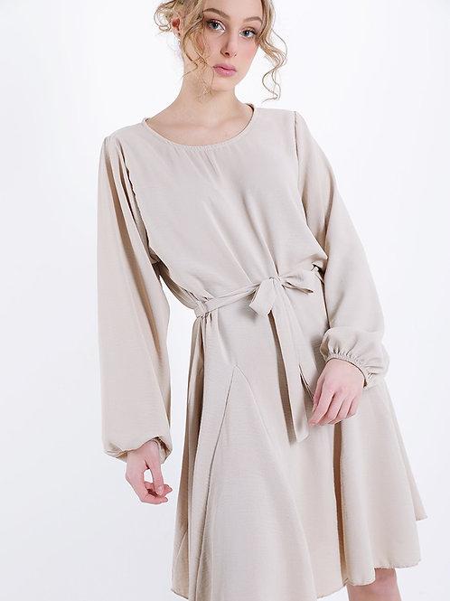 Kleid Nancy Beige