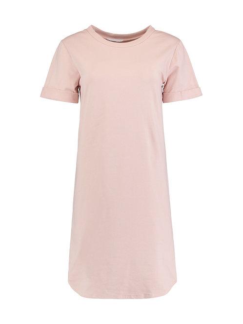 T-Shirt Kleid Ann Rosa