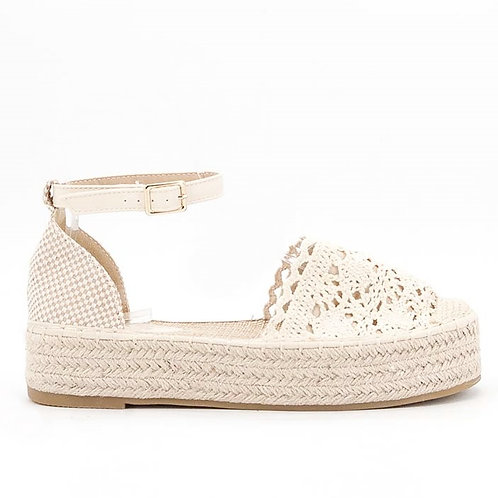 Sandale Amelie beige