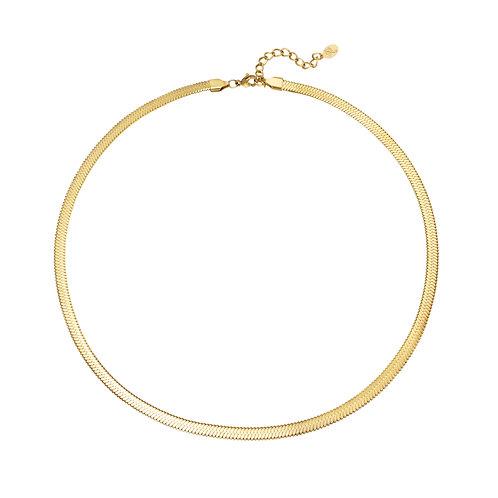 Halskette Snake gold