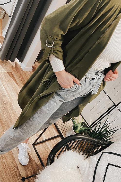 Long Jacket Mia OLIVE