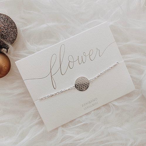 Armband Lebensblume Silber