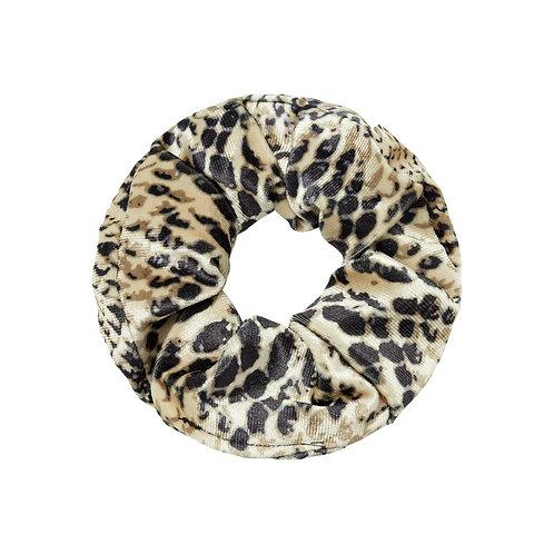 Scrunchie Snake Beige