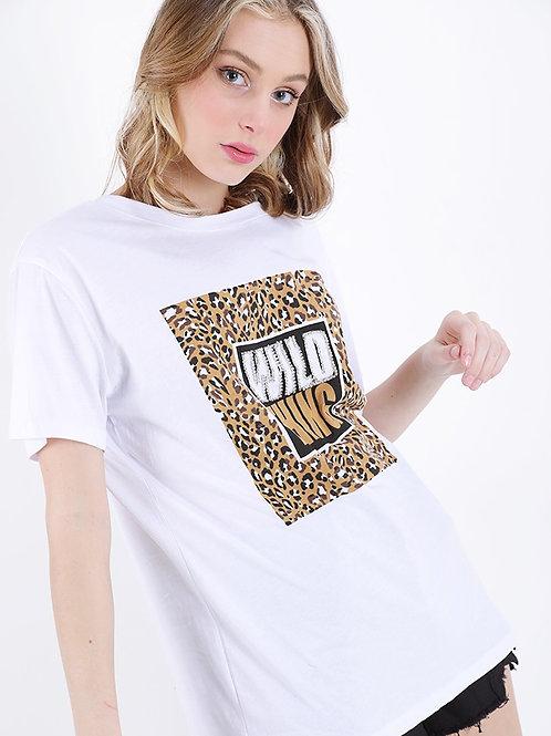 Oversize T-Shirt WILD