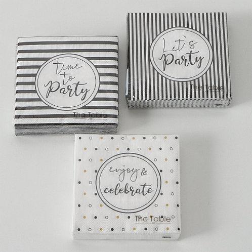 Cocktailservietten Party