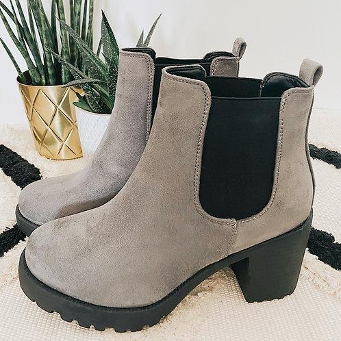 Ankle Boots Selina grau