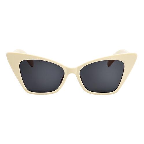 Sonnenbrille Cat white