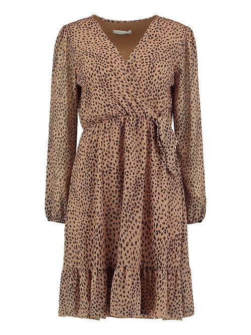 Kleid Romina beige