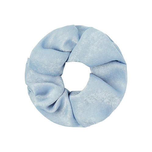 Satin Scrunchie hellblau