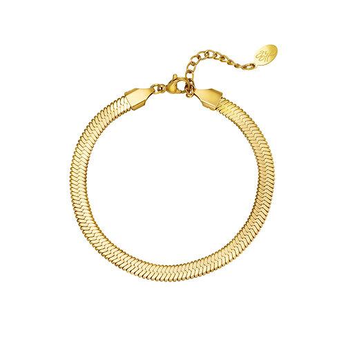 Armband Snake gold