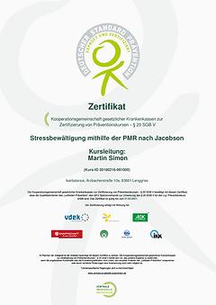 Zertifikat Stressbewältigung mithilfe der PMR nach Jacobsonr.png