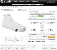 Zazzle Shoe Design Tool
