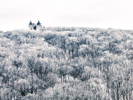 Photographing Architecture and Nature in the Snow