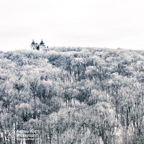 Castle Gwynn in the snow