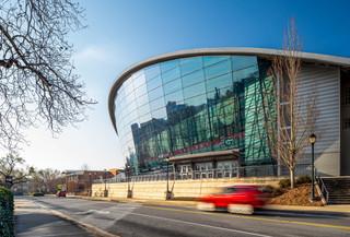 University Basketball Stadium Exterior