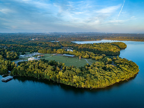Drone Photo of YMCA camp