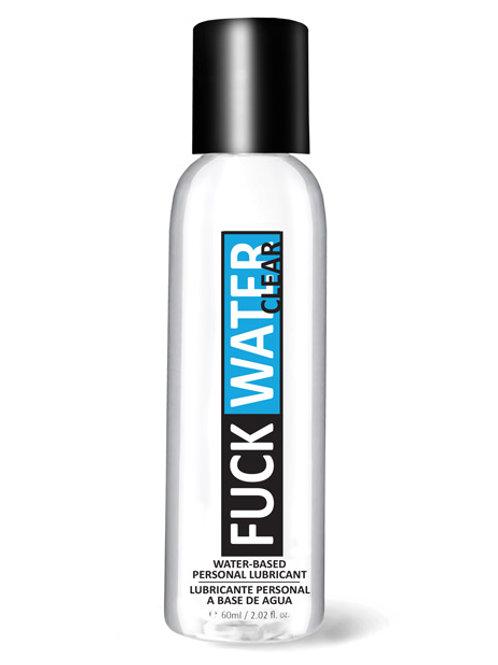 Fuck Water Clear H2O - 2 oz Bottle