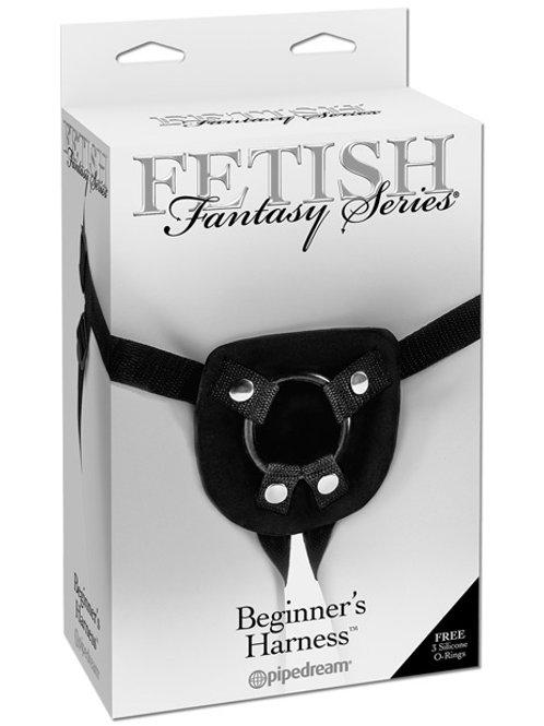 Fetish Fantasy Series Beginners Harness - Black