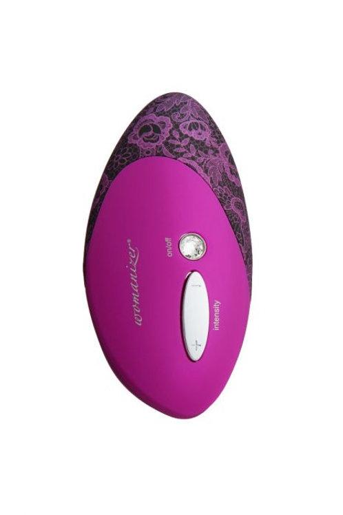 Womanizer W500 - Magenta w/Lace Print