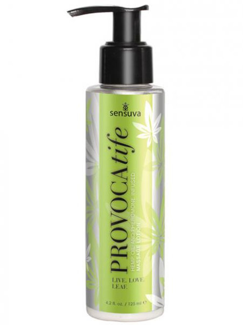PROVOCATIFE HEMP OIL & PHEROMONE INFUSED MASSAGE LOTIONPROVOCATIFE HEMP