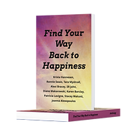 Mockup of find your way back to happines