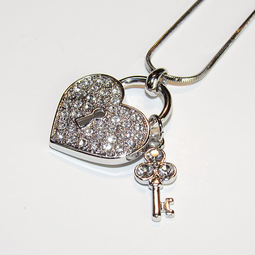 Love Locked Down Necklace
