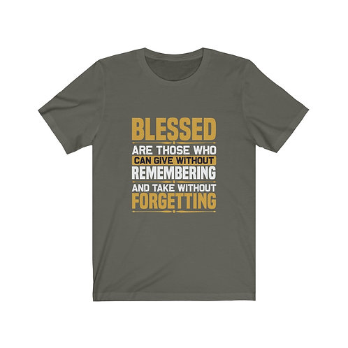 I Am Blessed Short Sleeve Tee