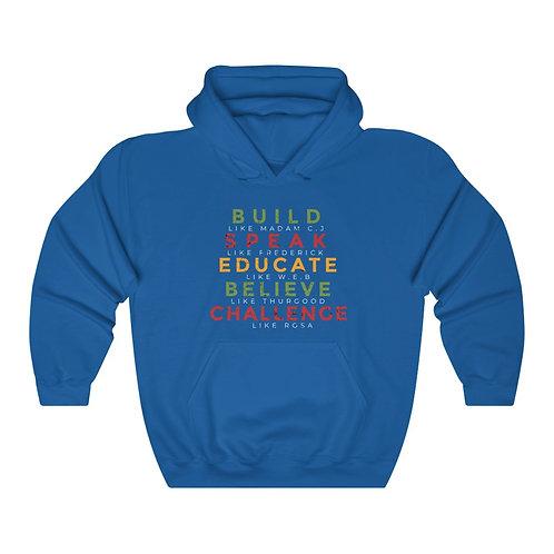 """Dream II"" Heavy Blend™ Hooded Sweatshirt"