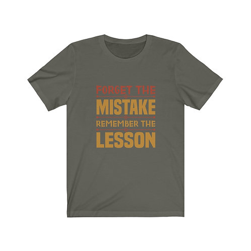 Remember The Lesson Short Sleeve Tee