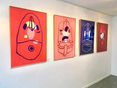 """Krampus"" vue d'exposition"