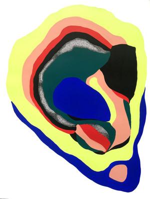 Bivalvia 1, acrylique sur papier 50x65cm .jpg