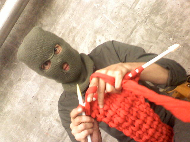 KNITTING IN DISGUISE