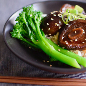 Simmered Dried Shiitake Mushrooms