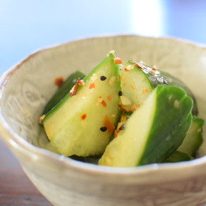 Instant Asian Style Cucumber Pickles