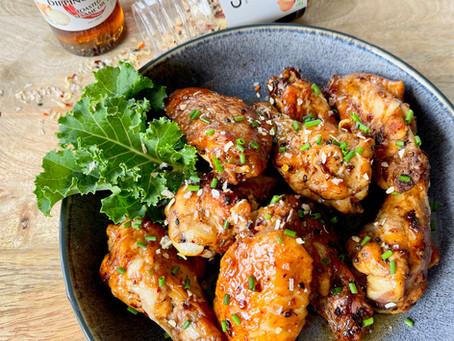 Spicy Mirin Chicken Wings