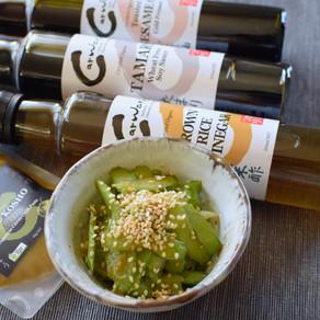 Celery in Spicy Dressing with Yuzu Kosho Green