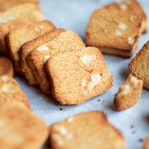 Sesame Flour & Walnuts Biscuits (Vegan & Gluten-free)