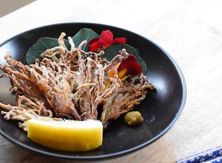 Enoki Karaage (Deep fried Enoki Mushroom)