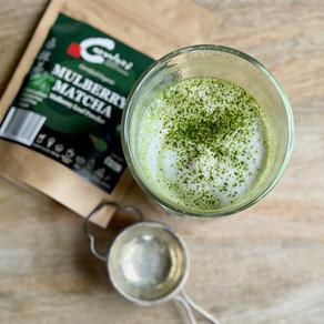 Mulberry Matcha Vegan Latte (Non-caffeine)