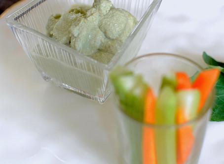 Mulberry Matcha & Miso Tofu Dip (Gluten Free & Vegan, Macrobiotic)