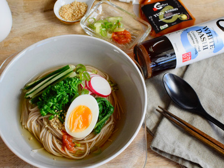 Chilled Soba Noodle Soup