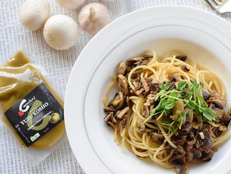Yuzu Kosho & Mushroom Pasta