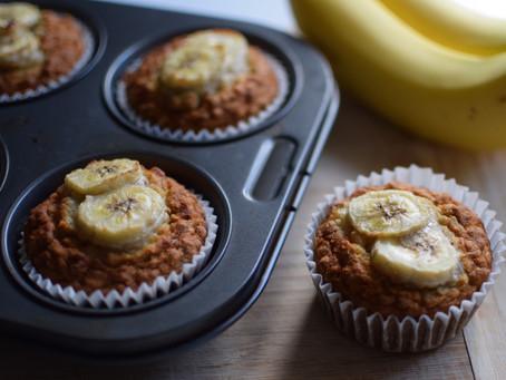 Banana Coconut Muffins (Vegan and Gluten-Free)