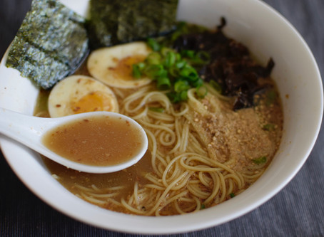 Miso Ramen (Vegetarian)
